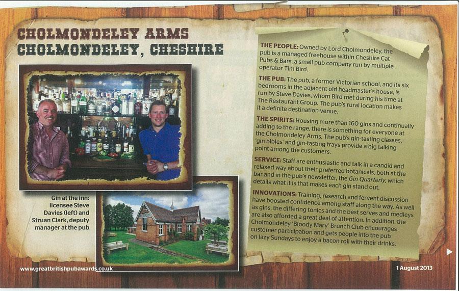 Cholmondeley-Arms