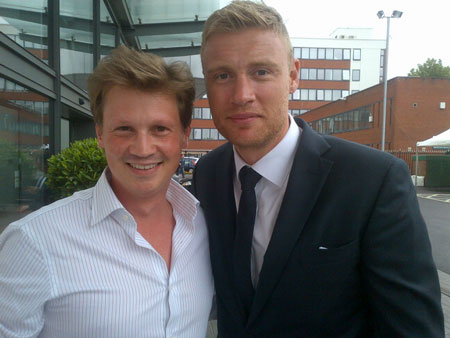SIMON WITH 'FREDDIE' FLINTOFF