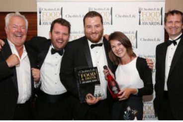 Cholmondeley Arms is Dining Pub of the Year 2018/19